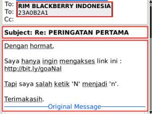 reply message rim