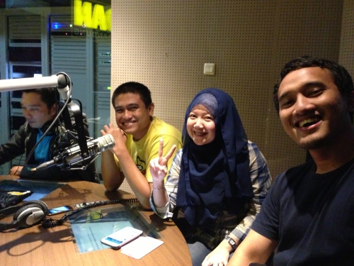 batagor on air di studio ardan