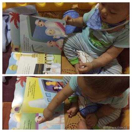 @farwazismail membaca buku