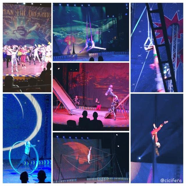 pertunjukan oriental circus indonesia dan russian circus