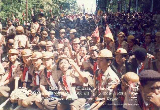 Kontingen Kota Metro, Jambore Nasional 2001