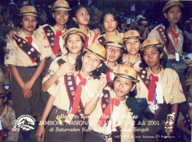 Regu Putri, Kontingen Kota Metro, Jambore Nasional 2001